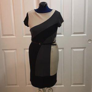 AA Studio color block dress